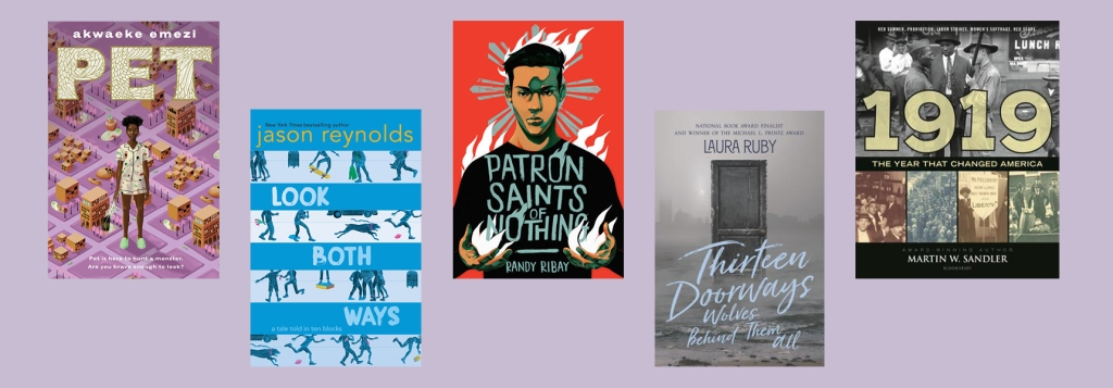 The shortlist for the National Book Prize, Young Adult Fiction Portion